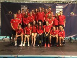 Sedm medailí a jeden český rekord