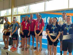 1. den MČR – pět medailí a rekord